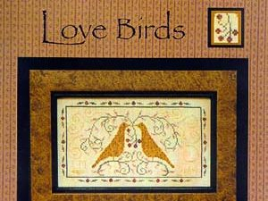 """Love Birds"" by La-D-Da Designs Cross Stitch Pattern"