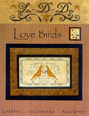 """Love Birds"" by La-D-Da Designs Cross Stitch Pattern"