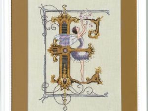 "Letter ""E"" Fairies by Norah Corbet Cross Stitch Pattern"