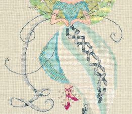 The Linen Fairy by Norah Corbet Cross Stitch Pattern