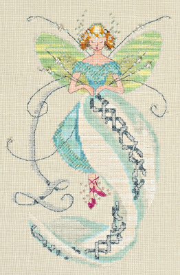 The Linen Fairy by Norah Corbet Cross Stitch Pattern