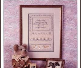 Antique Button Sampler by Sue Hillis Cross Stitch pattern