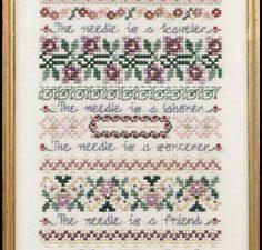 Needle Story JN067 Just Nan Pattern and Embellishments