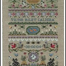 Baby Garden - Pattern and Embellishment JN140 & JNC43