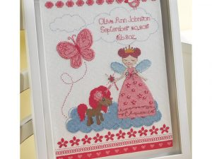 Fairy Tale Princess Birth Record by Bucilla  Cross Stitch Kit BU47665