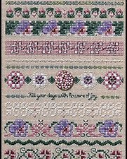 Flowers of Joy by Just Nan Pattern and Embellishments