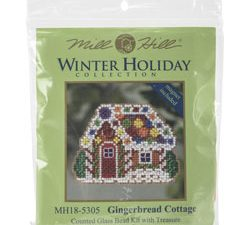 Ginger Bread Cottage  Mill Hill Kit MH185305