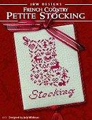 Petite Stocking Cross Stitch pattern by JBW Designs JBW173