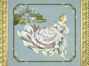"""Cinderella"" Mirabilia Pattern by Nora Corbett MD69"