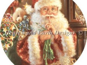 """""""Not a Creature was Stirring"""" Christmas Ornament Pattern by Heaven and Earth Designs"""