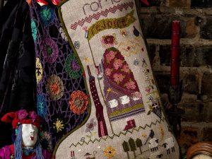 Roma Christmas Stocking Pattern