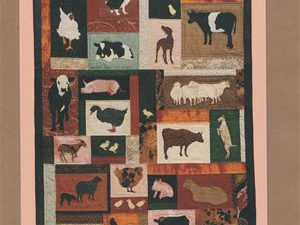 Farmyard Friends Pattern by Critter Pattern Works