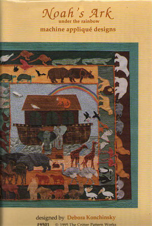 Noah's Ark Under the Rainbow By Critter Patterns