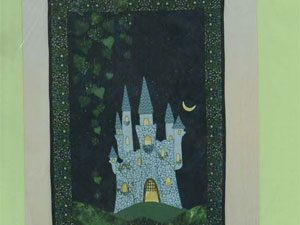 Oliver's Castle Wall Hanging Pattern by Anne Gadsby