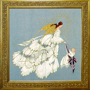 Angel of Mercy II LL 52 Cross Stitch Pattern by Lavender & Lace