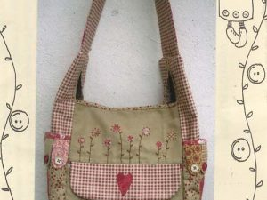 Vintage Flower Bag Pattern by Button Angel #32