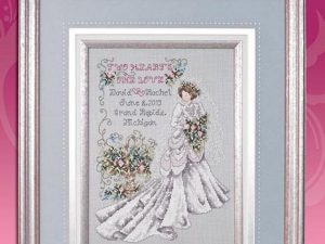 """All Dressed in White""  Cross Stitch Pattern by Stoney Creek 226"