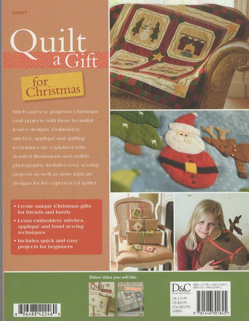 Quilt a Gift for Christmas Book by Barri Sue Gaudet