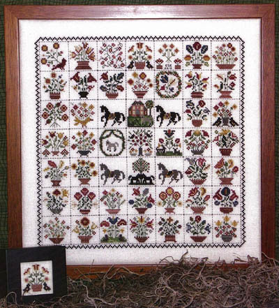 Emily Munroe Quilt Cross Stitch Pattern from Rosewood Manor
