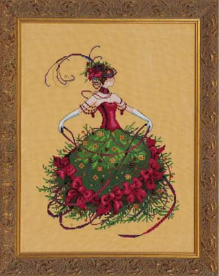"""""""Miss Christmas Eve"""" by Nora Corbet from Mirabilia Designs MD 148"""