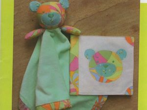 """Bambino"" Blankee & Book Pattern from Melly & Me"