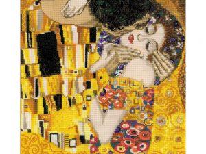 """The Kiss"" Riolis kit based on the Klimt painting R1170"