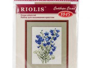 Blue Bells Cross Stitch Kit from Riolis1045