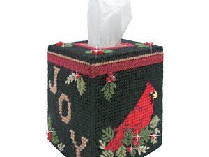 Cardinal Tissue Box Plastic Canvas Kit from Mary Maxim