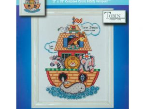 Noah's Ark Birth Record Cross Stitch Kit by Design Works from Tobin T21718