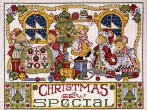 Christmas is Sew Special Cross Stitch Kit by Design Works DW5444