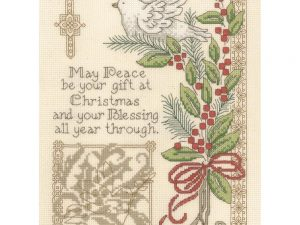 Gift of Christmas Cross Stitch Kit by Imaginating