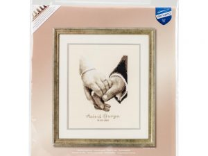 Wedding Happiness Cross Stitch Kit by Vervaco