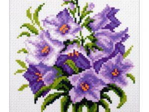 Bluebells Stamped Cross Stitch, Collection d'Art Art 1292