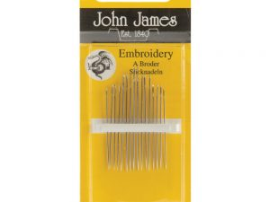 Hand Embroidery Needles Size 5/10 -  John James JJ135 510