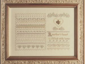 Seasons of the Heart No. 4 by Charland Designs Sampler Cross Stitch Pattern