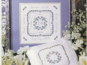 Sampler for Weddings & Anniversaries Cross Stitch Pattern by Patricia Ann Designs
