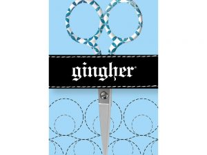 "Gingher ""Lauren"" 4"" Embroidery Scissors 2017 Designer Series"