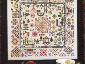 """Quaker Village"" Cross Stitch Pattern by Rosewood Manor"
