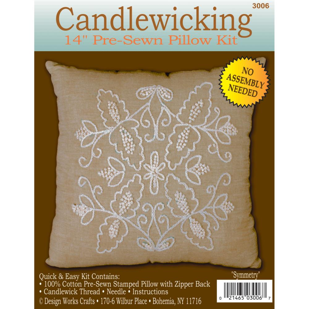 Symmetry Candlewicking Kit from Design Works DW3006