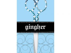"Gingher ""Lauren"" 5"" Embroidery Scissors 2017 Designer Series"