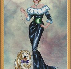 Sophie Cross Stitch Pattern by Cross Stitching Art