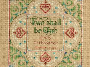 """""""Two as One"""" Dimensions Cross Stitch Kit 70-73814"""