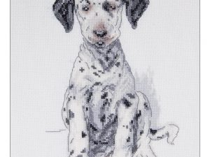 Pongo Counted Cross Stitch Kit by Cecil Aldin CACS06