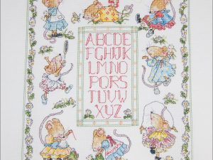 Seraphina Sampler Cross Stitch Kit from Creative World of Crafts