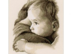 Baby Hug Cross Stitch Kit by Vervaco V0158510