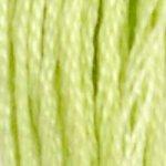 15 DMC Stranded Cotton Apple Green