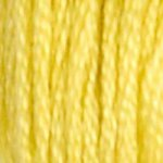 17 DMC Stranded Cotton Light Yellow Plum