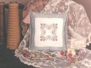 Elizabethan Needle Cushion Kit by Shepherds Bush