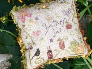 Gather Joy Pin Cushion kit by Shepherds Bush