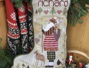 Richard Christmas Stocking Pattern